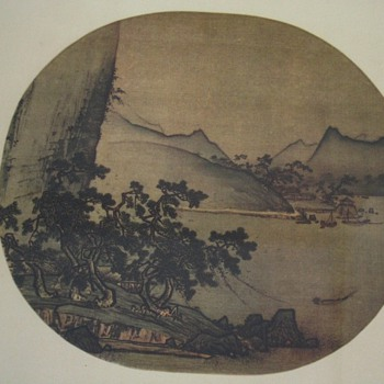 Landscape  from the John M Crawford Jr-collection - Asian