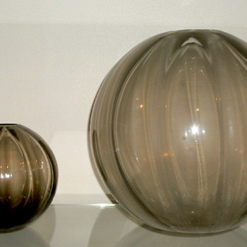 Vases by A.D. Copier for Leerdam - Art Glass