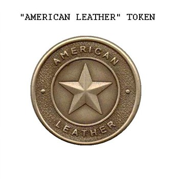 """American Leather"" Medal - Advertising"