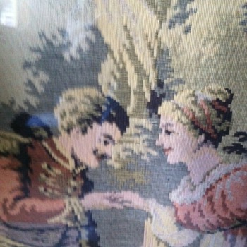 Help identify.  French tapestry