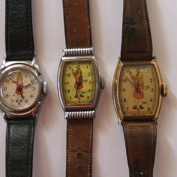 Orphan Annie Wristwatches