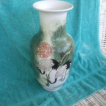 Chinese or Japanese vase needs ID please