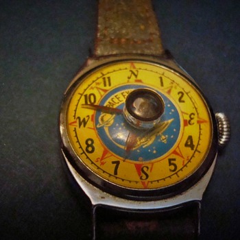 1954 Space Explorer Watch and Compass - Wristwatches
