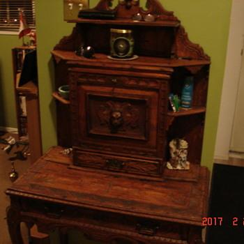 Monks desk 1834 ???? Ontario Canada