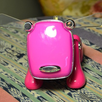 Pink Plastic Dog - Bluetooth?
