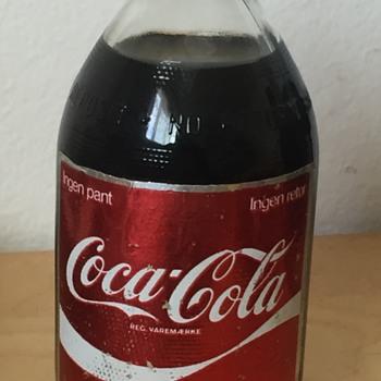Vintage foreign short stub Coke Cola Bottle - Bottles