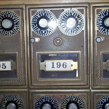 Nurse college dormatry mailboxes