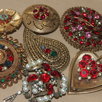 Another group of Rhinestone Beauties....  - Costume Jewelry