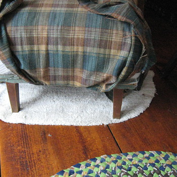 Old foot stool .......