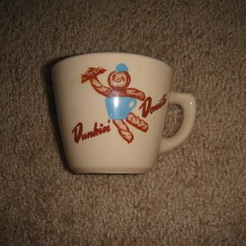 Vintage Dunkin Donuts Mug