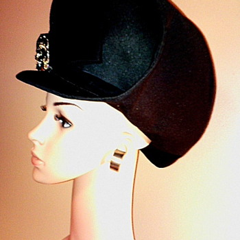 Newest Find!  Cloche Hat by Ell-Enn Originals - Hats