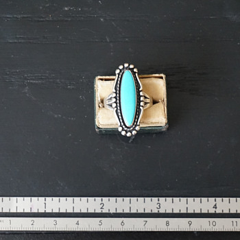 Silver & Turquoise Ring