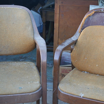 Chairs Uncovered In My Garage