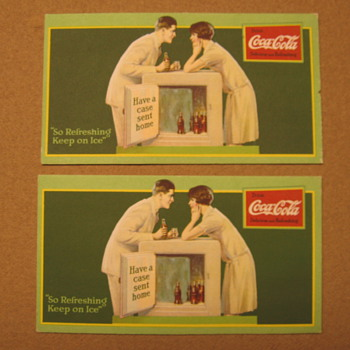 1927 Coca-Cola Blotters