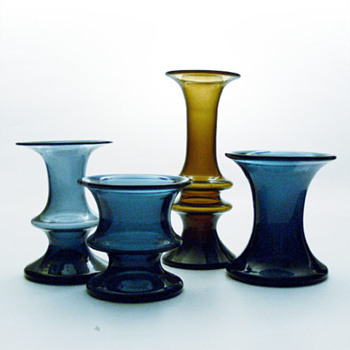 LAVENDEL / HAVANA, Per Lütken (Holmegaard, 1967) - Art Glass