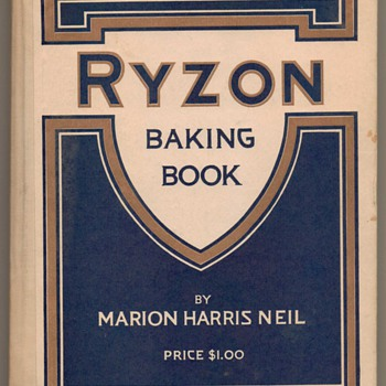 1917 - RYZON Flour Baking Book - Books