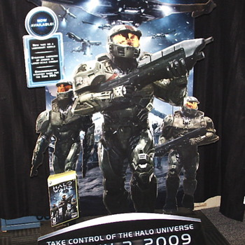 "BlockBuster""Halo Wars""Store Display 2008"