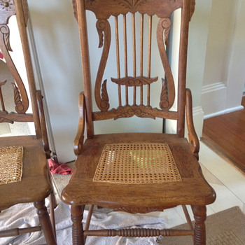Old old chairs!