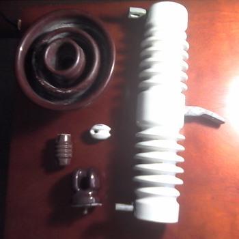 Telephone Pole Insulator's - Tools and Hardware
