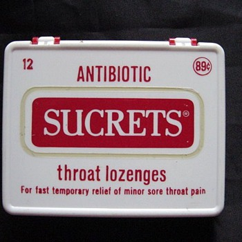 Sucrets w/antibiotics?? - Advertising