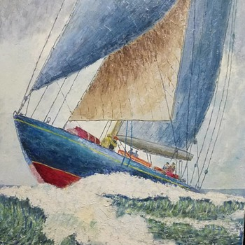 Nautical Painting - Visual Art