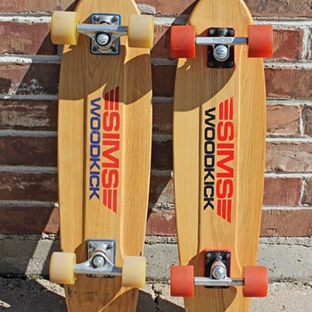Vintage SIMS Skateboards - Sporting Goods