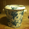 Antique Porcelaine Chamber Pot With Lid