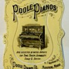 Antique Poole Pianos bookmark