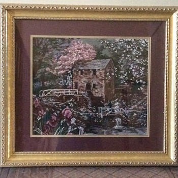 ART OF GLYNDA TURLEY (EMBROIDERED) PICTURE - Arts and Crafts