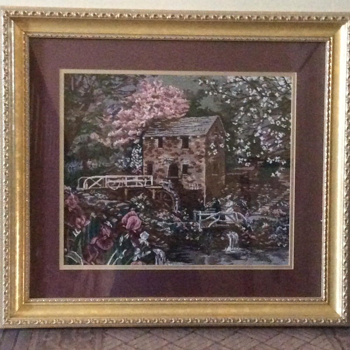 Art of glynda turley embroidered picture collectors weekly for Glynda turley painting