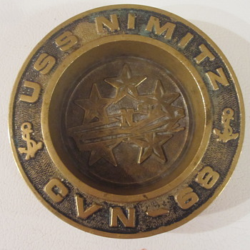 USS NIMITZ Ashtray - Military and Wartime