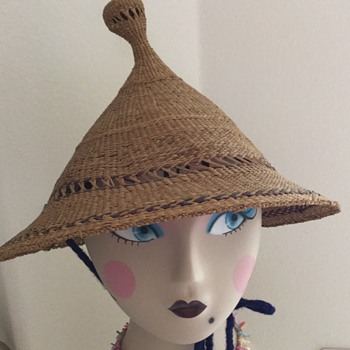 Antique Straw Sun Hats