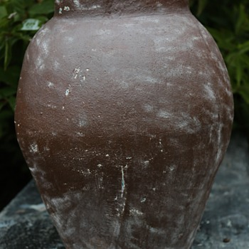 Large Terracotta Garden Urn - Art Pottery