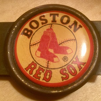 Boston Red Sox money clip - Baseball