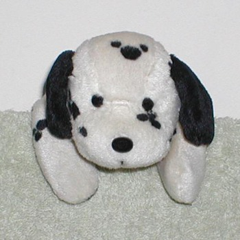 "Dalmatian 6"" Bean Bag Toy"