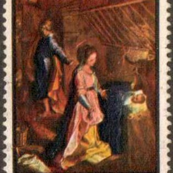 "1969 - New Zealand ""Christmas"" Postage Stamp"