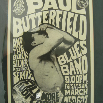 Vintage Concert Posters, Part 3 of 3 - Music