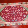 Handmade little rug made with incredable patience