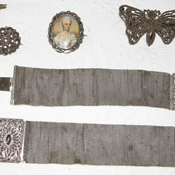 Acier de  Berlin,de Plombieres,Pierced Iron,Victorian jewels