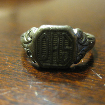 Great Grandma&#039;s Class Ring from High School - Costume Jewelry