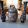 Mystery Vases and Container (It looks like egg shell finish or something)