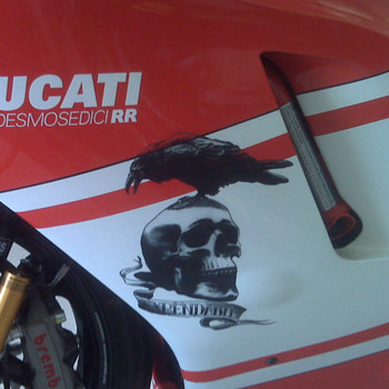 "Ducati Desmo from the movie ""THE EXPENDABLES"" - Motorcycles"