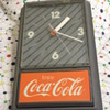 Coca Cola electric wall clock