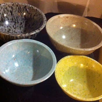 Confetti mixing bowls