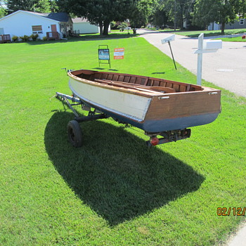 acquired 12 foot wooden fishing boat - Fishing