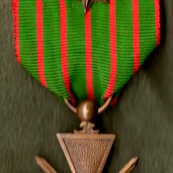 WWI French and Belgian Croix de Guerre