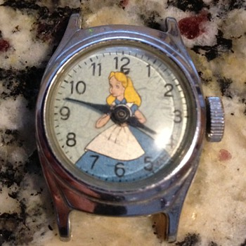 1950-57 Alice in Wonderland watch