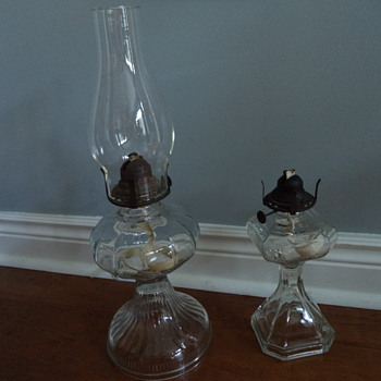 Old-fashioned Kerosene Lamps - Lamps