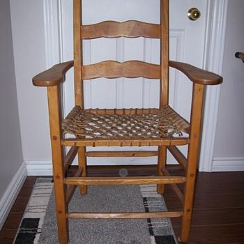 Vintage  Pine  Armed Chair