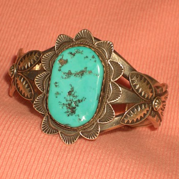 Look at this Wonderful Cuff Bracelet by Thomas Nez - Native American